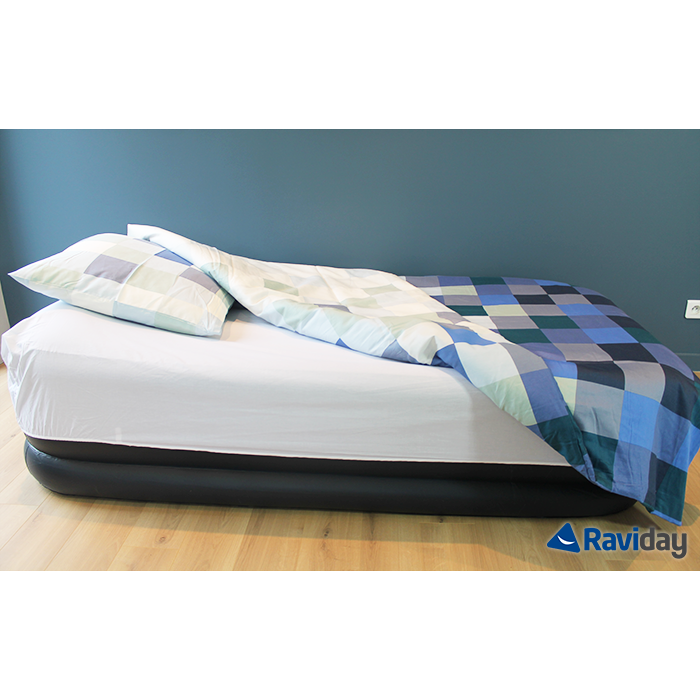 Matelas Gonflable Intex Rest Bed Deluxe Fiber Tech 1 Place