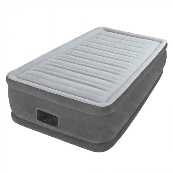 matelas gonflable intex comfort plush fiber tech 1 place. Black Bedroom Furniture Sets. Home Design Ideas