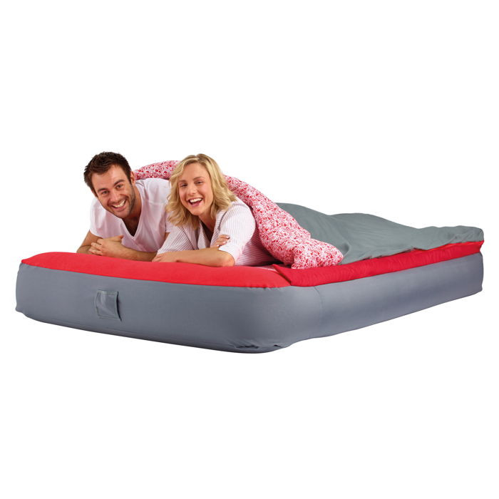 Matelas gonflable avec sac de couchage int gr 2 personnes readybed deluxe raviday matelas - Matelas gonflable sac de couchage integre ...