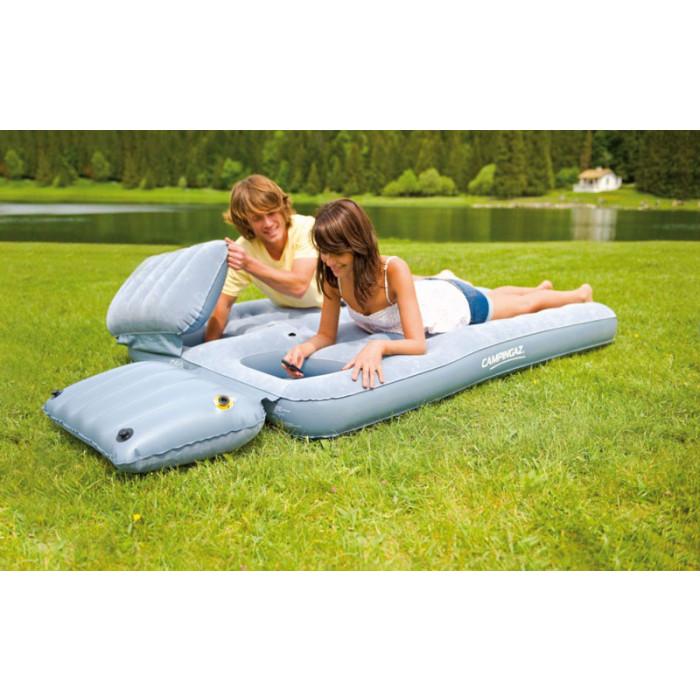 matelas gonflable avec oreillers 2 places campingaz smart quickbed. Black Bedroom Furniture Sets. Home Design Ideas