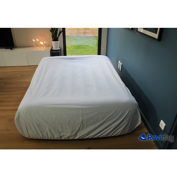 Matelas Gonflable Intex Rest Bed Fiber Tech 2 Places