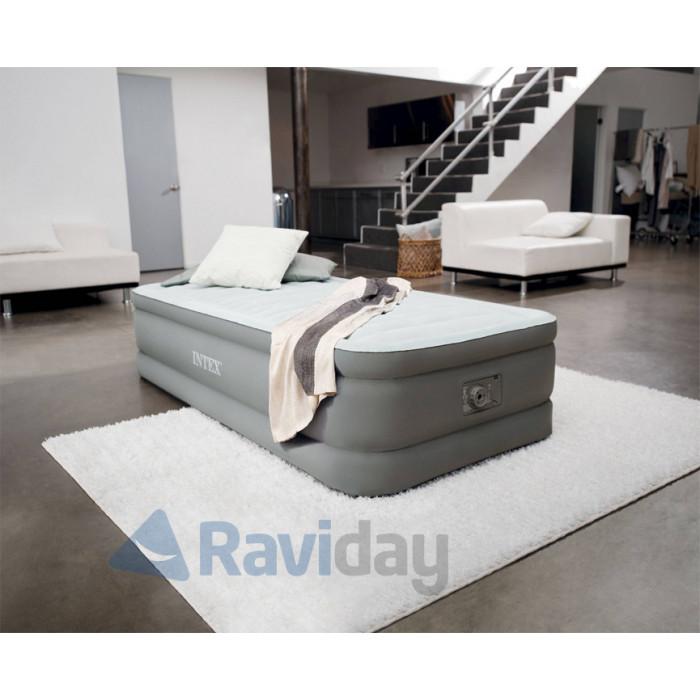 lit gonflable intex premaire 1 place. Black Bedroom Furniture Sets. Home Design Ideas