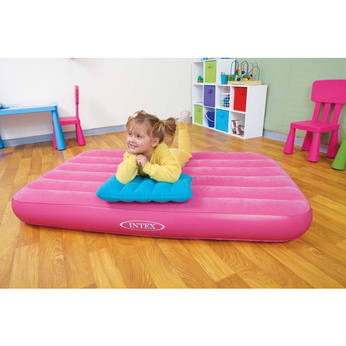 matelas gonflable floqu pour enfant intex raviday matelas. Black Bedroom Furniture Sets. Home Design Ideas