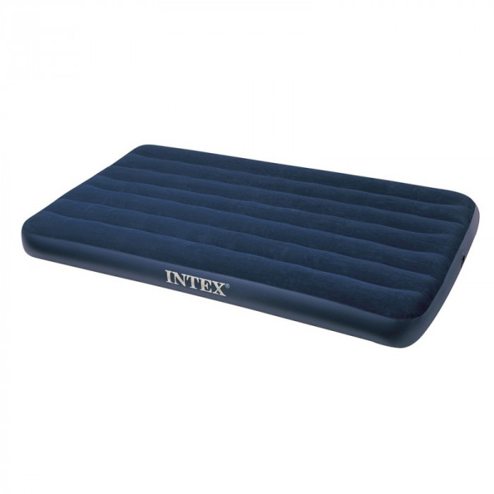 Matelas Gonflable Intex Downy Classic 1 Place Xxl 120cm