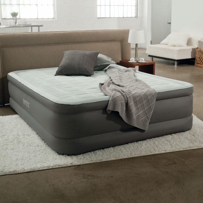 intex premaire 2 personnes matelas gonflable lectrique chez raviday. Black Bedroom Furniture Sets. Home Design Ideas