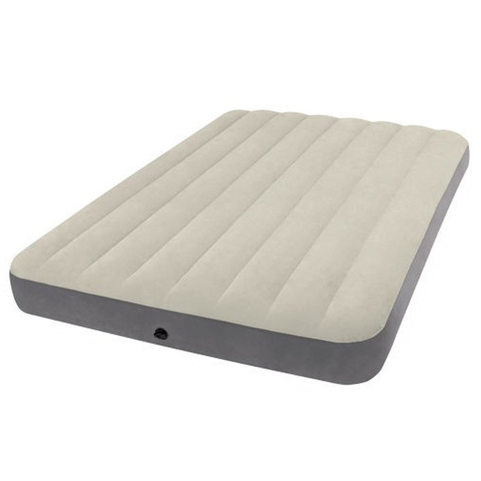 Matelas Gonflable Intex Downy Fiber Tech 2 Personnes Version 2017 Raviday Matelas