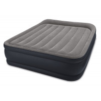 Matelas gonflable electrique Intex Rest Bed Deluxe Fiber-Tech 2 places