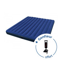 Matelas gonflable 2 personnes Intex Downy Classic XXL