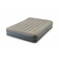 Lit gonflable électrique 2 places Intex Pillow Rest Mid-Rise Fiber-Tech