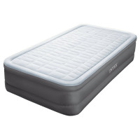 matelas gonflable lectrique intex rest bed fiber tech 1 place raviday. Black Bedroom Furniture Sets. Home Design Ideas