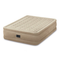 Matelas gonflable Intex Ultra Plush Fiber-Tech 2 places