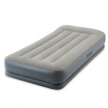 Lit gonflable électrique 1 place Intex Pillow Rest Mid-Rise Fiber-Tech