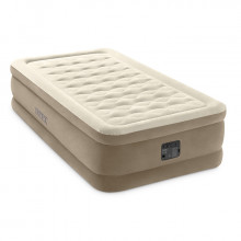 Matelas gonflable Intex Ultra Plush Fiber-Tech 1 place 64456