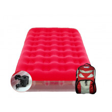 Matelas gonflable électrique Aerobed Sleepover avec sac à dos