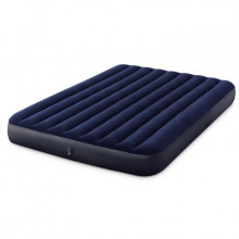 Matelas gonflable Intex Downy Classic FT 2 places - 203 x 152 x 25 cm