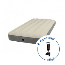 Matelas gonflable Intex Deluxe Single-High 1 personne