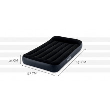 Matelas gonflable Intex Pillow Rest 2 places - 191 x 137 x 25cm