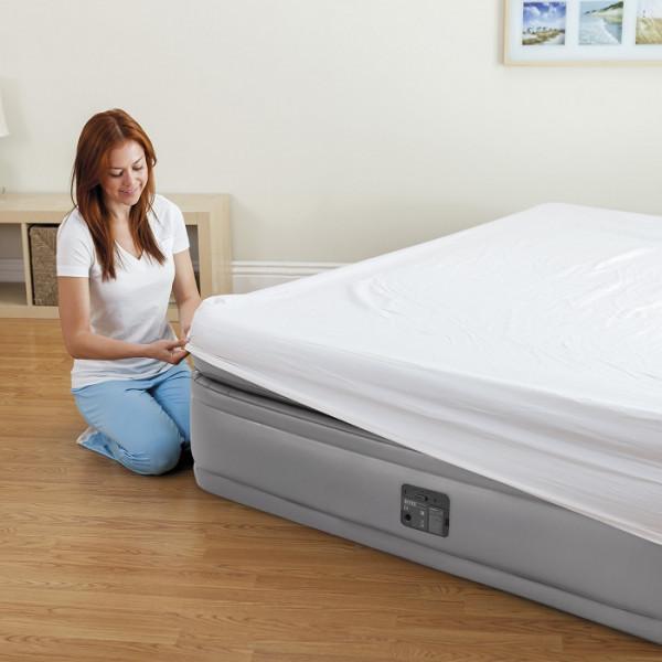 Lit gonflable Intex Prime Comfort avec sommier pour border les draps