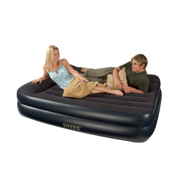 Matelas gonflable Intex Rest Bed Pillow 2 personnes 66720