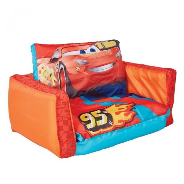 Canapé-lit gonflable Hello Home enfants Disney Cars