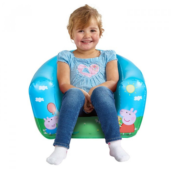 Fauteuil gonflable pour enfants - Peppa Pig