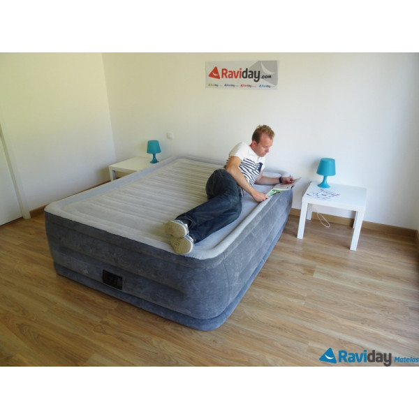 Lit gonflable intex comfort plush high fiber tech 2 places - Matelas gonflable electrique decathlon ...