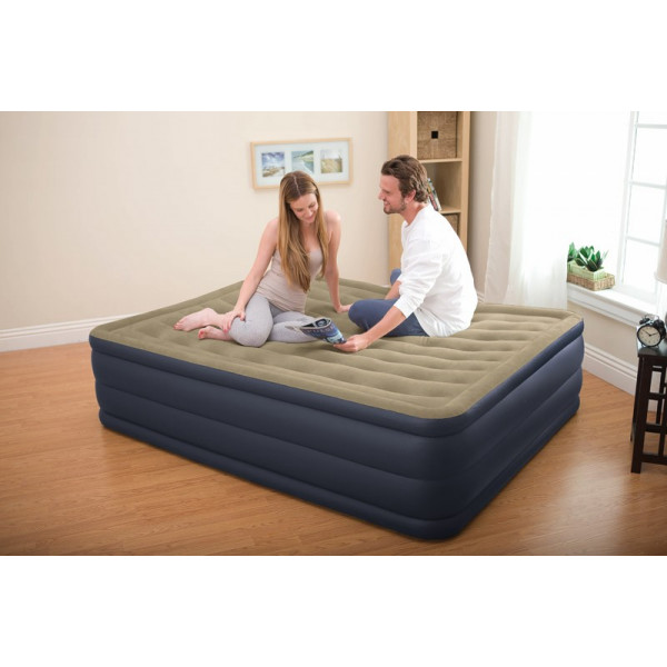 Matelas électrique gonflable 2 places Plush Bed Intex