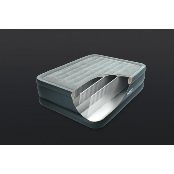 Matelas gonflable électrique 2 places Intex Essential Rest Bed Fiber-Tech