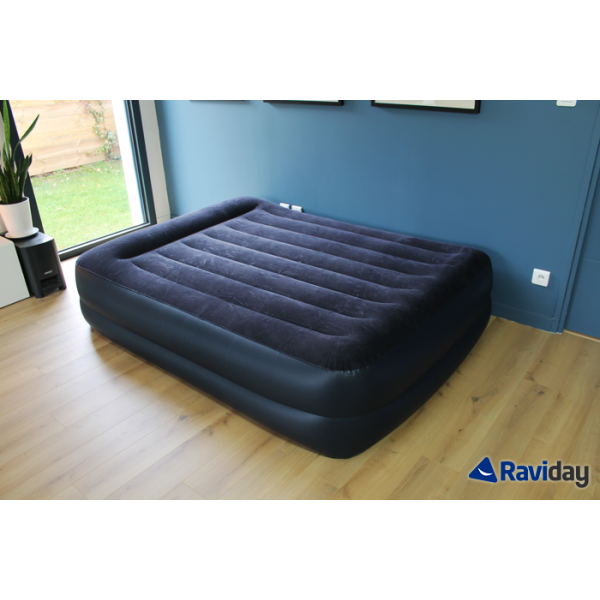 matelas gonflable intex rest bed fiber tech 2 places. Black Bedroom Furniture Sets. Home Design Ideas