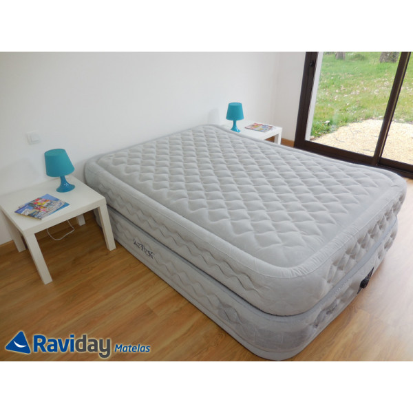 matelas lit gonflable intex supreme bed fiber tech 2 places. Black Bedroom Furniture Sets. Home Design Ideas