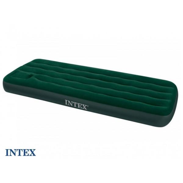 Matelas gonflable 1 personne avec pompe intégrée Intex Downy