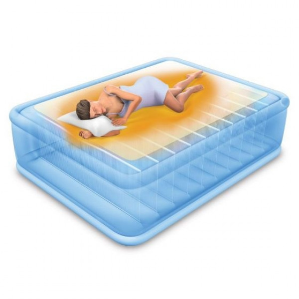 Matelas Gonflable Intex Premaire Thermalux 2 places