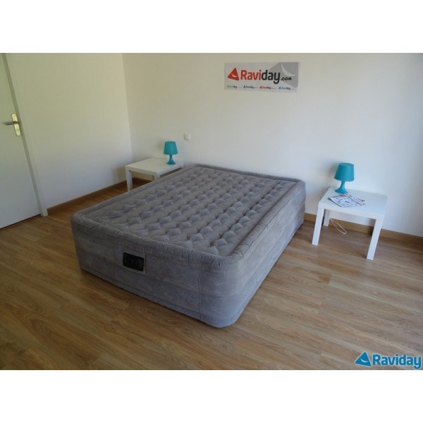 Matelas intex ultra plush 2 places lit gonflable lectrique 2 personnes - Lit gonflable intex ...