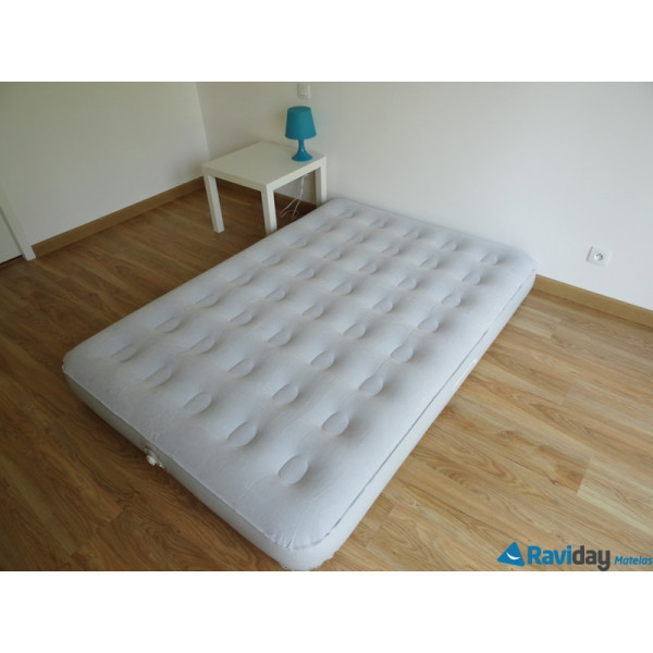 Matelas lectrique aerobed premium guest bed double raviday matelas - Matelas gonflable aerobed ...