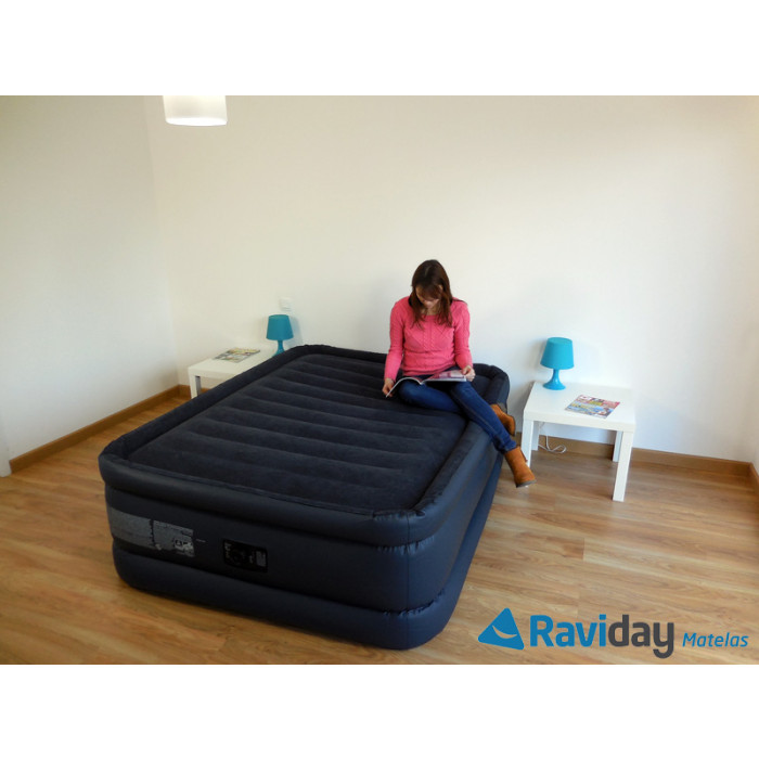 Intex 64440 matelas gonflable Raised Downy Bed Fiber-Tech