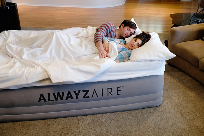 matelas gonflable bestway nightrest alwayzaire 2 places. Black Bedroom Furniture Sets. Home Design Ideas