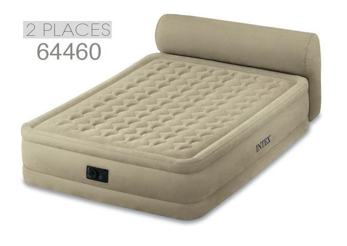 Matelas lit 2 places lit gonflable lectrique intex prime - Lit gonflable confort supreme 2 personnes ...