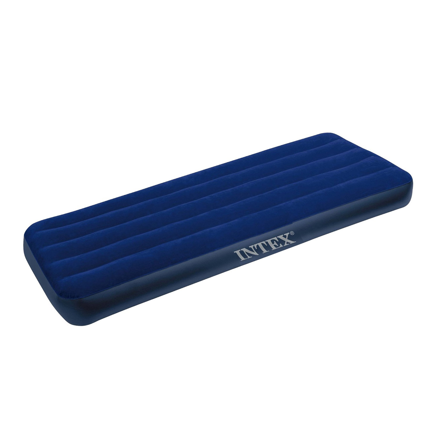 Matelas gonflable 1 personne lit d 39 appoint intex downy - Lit gonflable intex ...