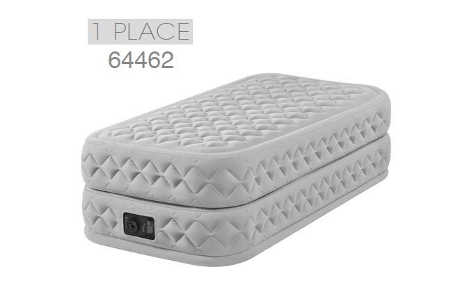 Matelas gonflable intex supreme bed fb 1 places lit gonflable haut de gamme - Matelas gonflable tres confortable ...