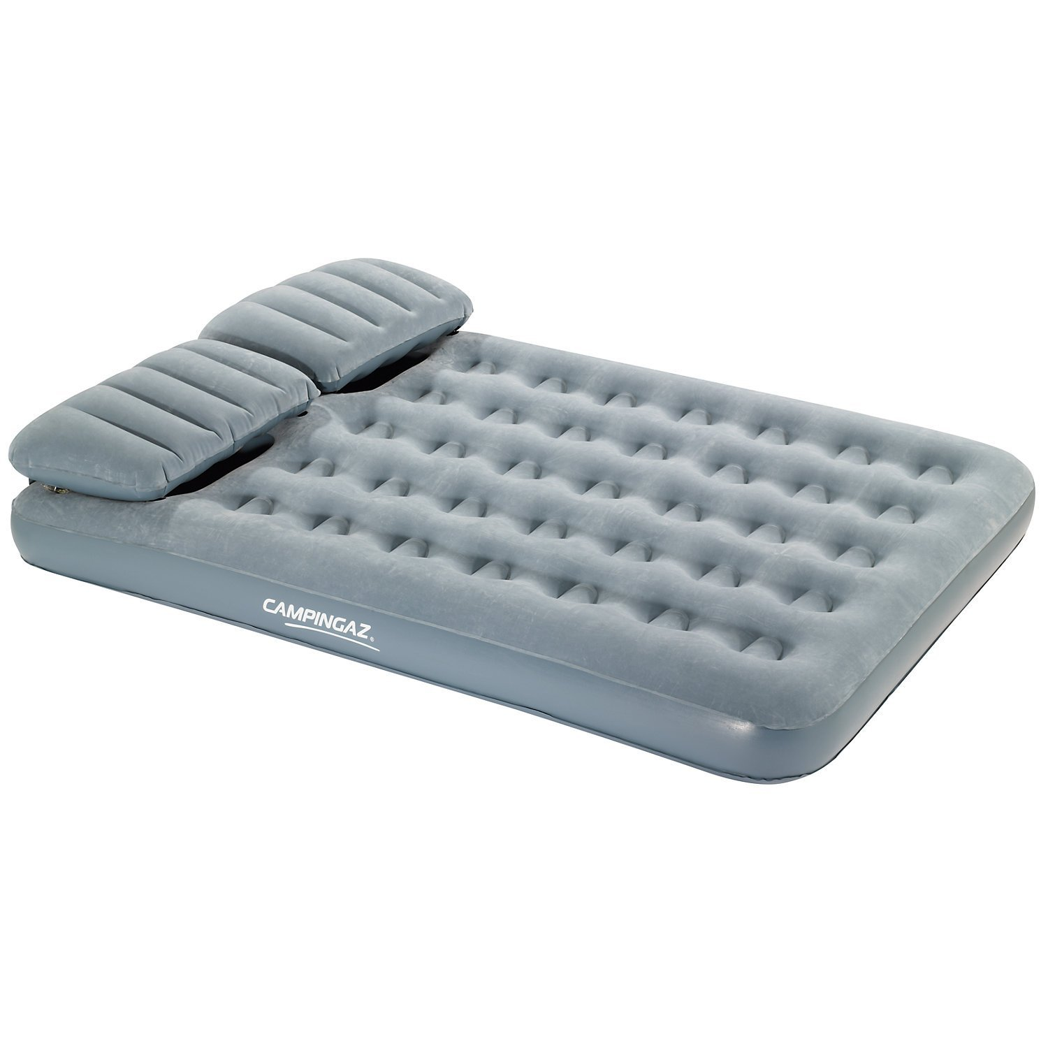 Matelas gonflable avec oreillers 2 places campingaz smart for Protege oreille piscine decathlon