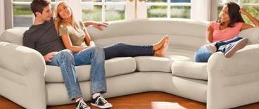 Mobilier gonflable : fauteuil et canapé gonflable