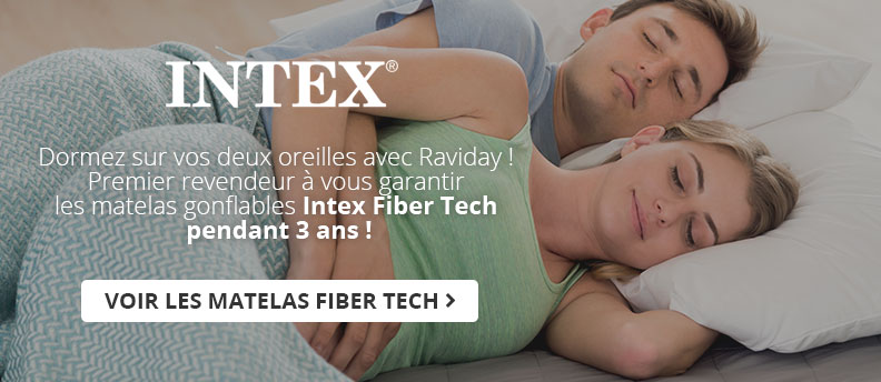 Matelas gonflable Intex Fiber Tech